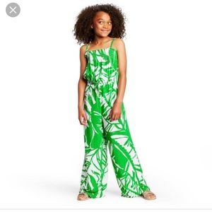 LILLY PULITZER FOR TARGET- NWT Palm Print Jumpsuit